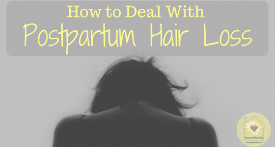 How to Deal with Postpartum Hair Loss